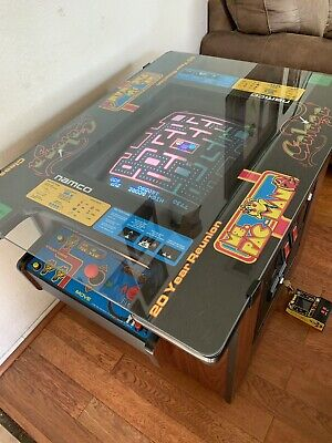 Pacman Table Game >> Arcade Cocktail Table