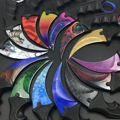 AU45.23 • Buy CSGO Karambit Knife Counter Strike Claw Knives CSGO Game Fade Doppler Hyperbeast