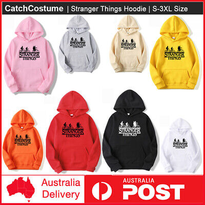 AU32.34 • Buy New Stranger Things Hooded Sweater Men And Women Unisex Sweatshirt Loose Fashion
