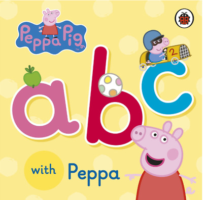 Toy Gift Early Learning Kid Child Alphabet Baby Gift Peppa  ABC Board Book Game  • 6.99£