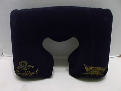 Crown Royal - Chivas Regal Travel Neck Pillow With Case Rare & Hard To Find NIB • 19.12$
