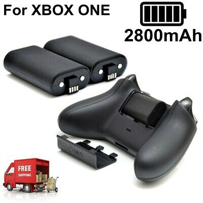 $14.95 • Buy 2x 2800mAh Rechargeable Battery With Cbale For XBOX ONE Wireless Controller New