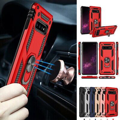 $ CDN6.65 • Buy For Samsung Galaxy S10/S10 Plus/S10e/S9 Magnetic Support Metal Ring Case Cover