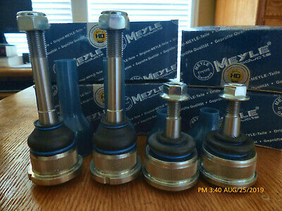 $75 • Buy BMW E46 Front Control Arms: NEW Meyle HD Ball Joint Set Of Four, Inner & Outer