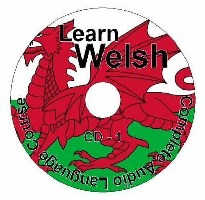 (1 CD Pack) Learn How To Speak Welsh Language Easy Audio CD Course Tutorial • 7.99£