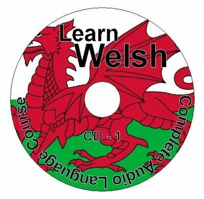 (4 CD Pack) Learn How To Speak Welsh Language Upper-Easy Audio CD Course • 12.99£