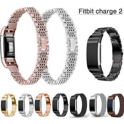 $ CDN8.98 • Buy For Fitbit Charge 2 Stainless Steel Watch Band Milanese Wrist Bracelet Strap New