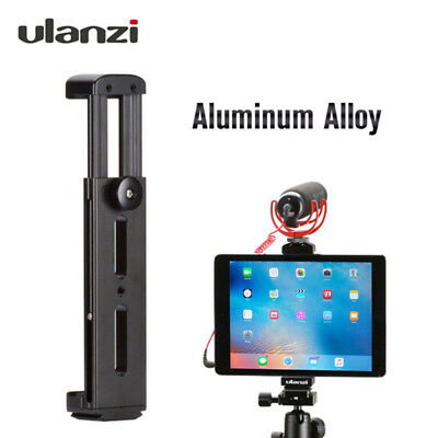 AU45.29 • Buy Ulanzi Tablet Tripod Mount Holder Adapter Cold Shoe Mount 1/4  Thread For IPad