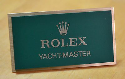 ROLEX YACHT-MASTER Display Plaque Espositore 16623 16622 16628 16822 168622 OEM • 199.99£