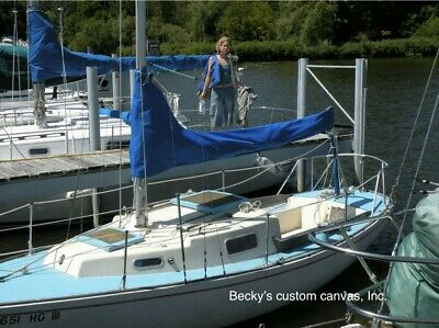 $189 • Buy Main Sail Cover 12'- 3  Long (pick Your Color) * * Good Quality Workmanship * *