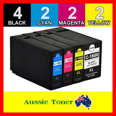 AU36 • Buy 10x PGI-1600XL Ink Cartridge For Canon Maxify MB2060 MB2160 MB2360 MB2760