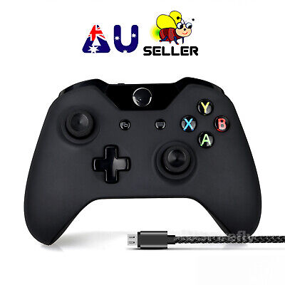 AU63.95 • Buy For Windows PC Microsoft Xbox One Wireless Bluetooth Controller With USB Cable