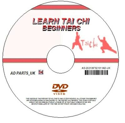£2.45 • Buy Learn Tai Chi Beginners Guide Gentle Exercise Relaxation Peace Meditation On Dvd