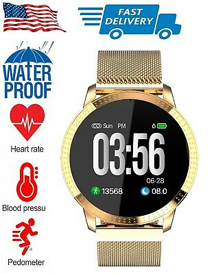 AU45.12 • Buy WaterProof Smart Watch With Step Calorie Counter For IPhone Samsung LG Motorola