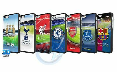 Football Club Hard 3D Protective Phone Case Cover For IPhone 4 5 5S SE 6 6S 7 8 • 6.99£