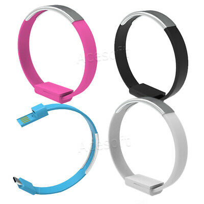 $8.34 • Buy Durable Type-C USB 3.1 Cable Bracelet Wristband Charger Charging Data Sync Cord