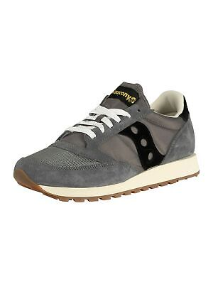 Saucony Men's Jazz Original Vintage Trainers, Grey • 41.95£