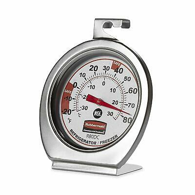$15.13 • Buy Rubbermaid Stainless Steel Instant Read Refrigerator/Freezer/Cooler Thermometer