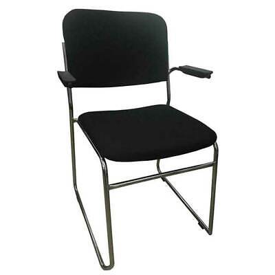 AU115 • Buy New Visitor Base Stackable Arm Chair Boardroom Meeting Waiting Room Rod Fabric