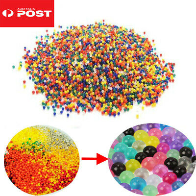 AU4.95 • Buy 10000-50000pcs Crystal Water Balls Jelly Gel Beads For Plant Vases Orbeez OZ