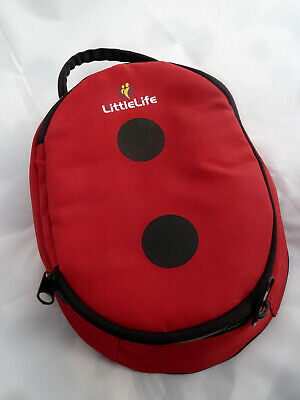 LittleLife Animal Child Lunch Pack Ladybird - Kids Lunch Bag Insulated Lunch Box • 6.95£