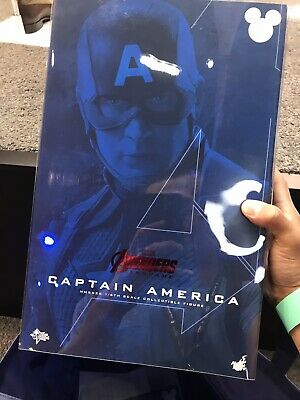 $ CDN12092 • Buy Disney D23 Expo 2019 Worthy Captain America Hot Toys Movie Masterpiece VERY RARE
