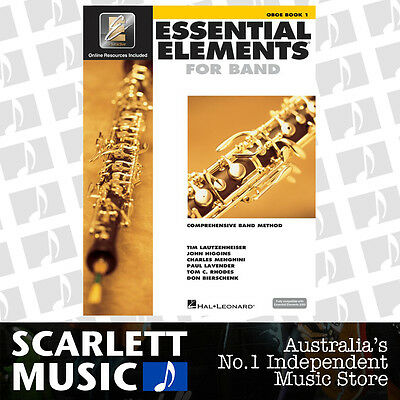 AU23.95 • Buy Essential Elements For Band Book 1 (One / First) - Oboe - W/EE Interactive.