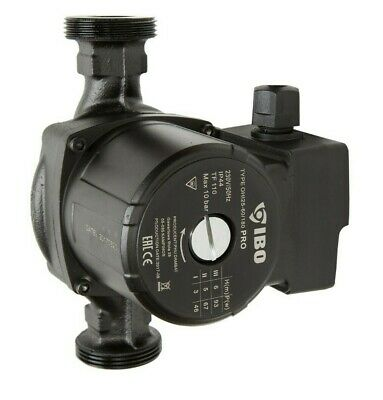 1 1/2  IBO OHI PRO 25-60/180 Circulation Pump Central Heating Repl. Grundfos Dab • 54£