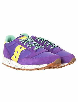 Saucony Jazz Vintage OG Trail Trainers - Purple/Yellow • 53£