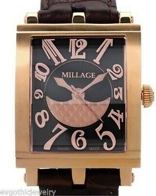 $1995 • Buy Millage The Dijon Collection Ml0073-A Calf Leather Color RGB Men's Swiss Watch