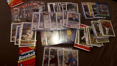 $ CDN40 • Buy 2019 Topps Archives Inserts, Autographs, Parallels You Pick UPick From List Lot