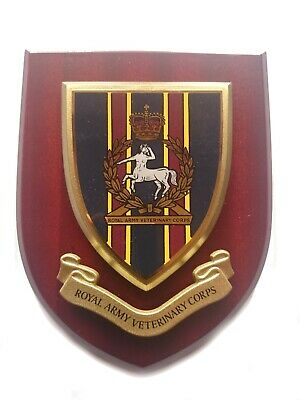 Royal Army Veterinary Corps Wall Plaque Regimental Military Mess Shield • 22.99£