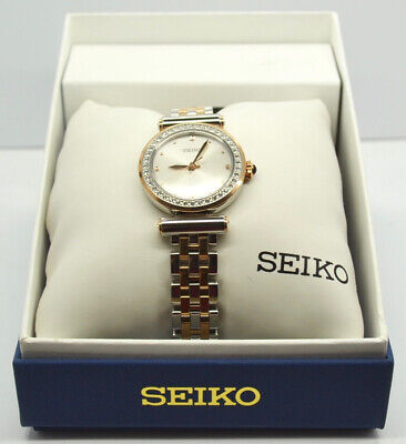 $ CDN159.99 • Buy Seiko Quartz 44 Swarovski Crystals Women's Watch (SRZ466)