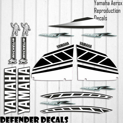 Yamaha Aerox 2006 Replica Decals Stickers Graphics Kit Scooter Reproduction • 44.99£