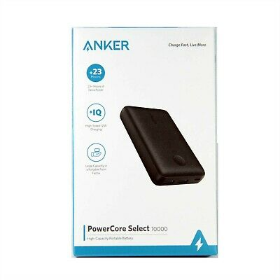 AU44.95 • Buy Anker Battery Power Bank Powercore Select 10000mah Fr Smartphone Tablet A1223h11
