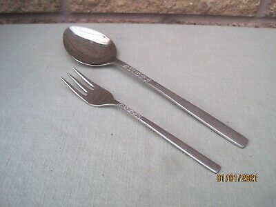 Retro Vintage S/S Cutlery Love Story Daisy Design C1970 By Viners Of Sheffield • 2.50£