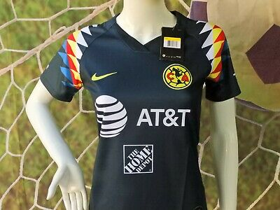 $30.95 • Buy WOMEN'S LIGA MX CLUB AMERICA Visitante Azul AWAY ERSEY 2019/2020