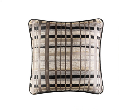 $ CDN32.26 • Buy J Queen New York Structure 18  Square Decorative Pillow Bedding - Taupe