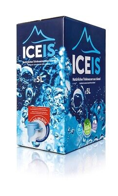 ICEIS - Natural Alkaline Water (pH8.8) From A Glacier In Iceland-5L(20%VAT Incl) • 24.99£