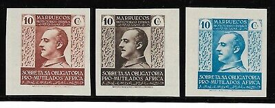 £4.26 • Buy SPANISH MOROCCO 1938  Complete Set 3 New Stamps**. General FRANCO  (4466)