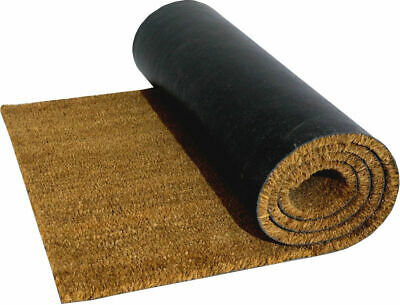 Heavy Duty Natural Coconut COIR  Matting Various Size To  2m Wide 10m Long 15mm • 22.99£