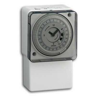 TOWER OPTIMUM 24 HRS TIMER 16amp IMMERSION HEATER TIME SWITCH MANUAL OVERIDE • 26.99£