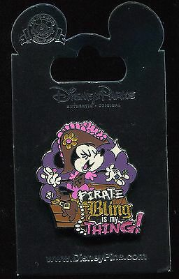 Minnie Mouse Pirate Bling Is My Thing! Disney Pin • 4.46£