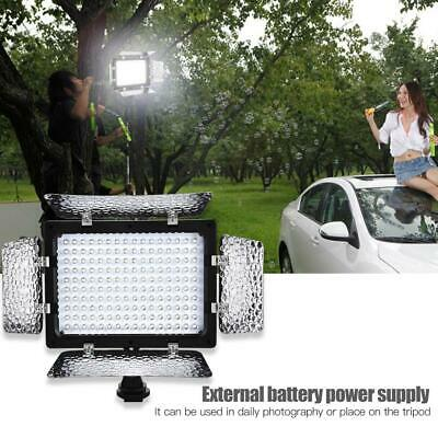 W160 Video Photography Light Lamp Panel 6000K LED For DSLR Camera DV Camcorder M • 21.89£