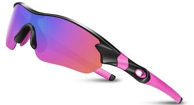 Cycling Glasses Polarized Sports Sunglasses For Men Women Youth Running... • 14.99£