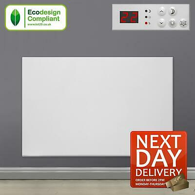 £57.95 • Buy 600W Electric Panel Heater Wall Mounted Bathroom Radiator With Thermostat Timer