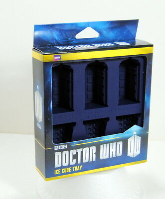 Doctor Who BBC Licensed Ice Cube Tray Chocolate Mold Tardis Dalek Food Safe • 15.54£