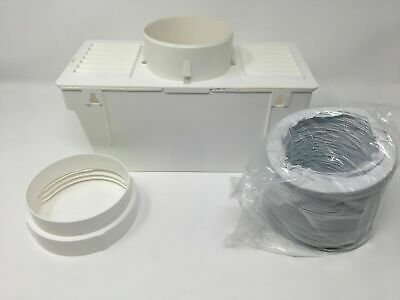 £11.99 • Buy Universal Tumble Dryer Condenser Vent Kit Box & Hose Fits All Makes Of Machine