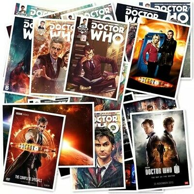 £6.99 • Buy Doctor Who 20/pcs PVC Series Sticker Home Decor Waterproof Stickers