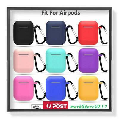 AU5.95 • Buy For Apple Airpods Case Cover Skin Anti Lost Strap Airpod Case Shockproof Holder